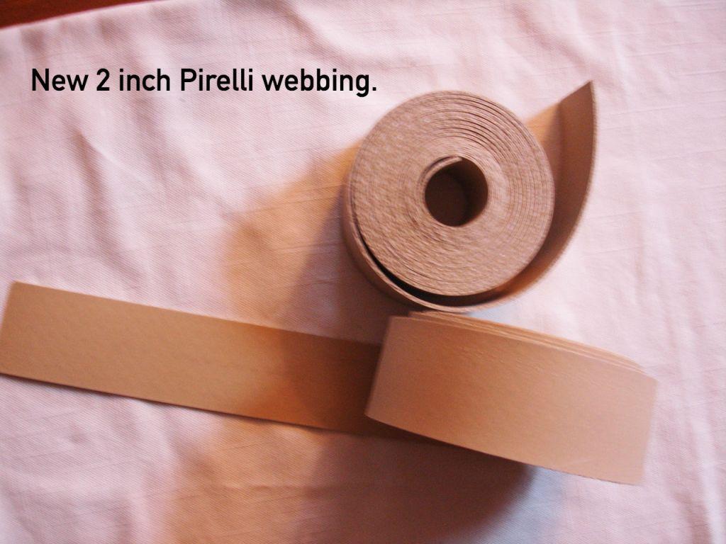 Pirelli webbing
